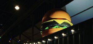Le plus gros Burger du monde – Comptoir Volant