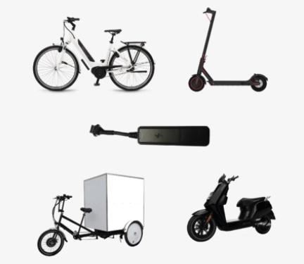 Traqueur vélo TrackAp