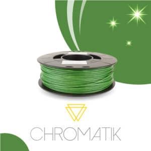 Filament Chromatik PLA 1.75 mm – Vert Cactus Pailleté (750g)