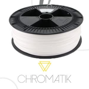 Filament Chromatik PLA 1.75mm – Blanc (2,3kg)