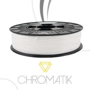 Filament Chromatik PLA 1.75mm – Blanc (750g)