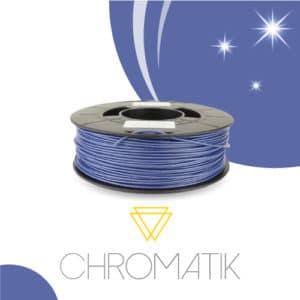 Filament Chromatik PLA 1.75mm – Bleu Pailleté (750g)