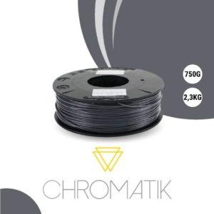 Filament Chromatik PLA 1.75mm – Gris Anthracite (750g)