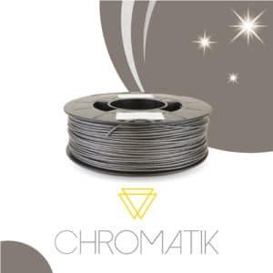 Filament Chromatik PLA 1.75mm – Gris Pailleté (750g)