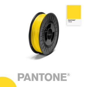 Filament Pantone PLA 1.75mm – 115 C – Jaune
