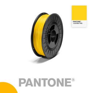 Filament Pantone PLA 1.75mm – 13-0758 TPG – Jaune