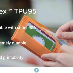 Filament PolyFlex TPU 95A 1.75mm – Jaune
